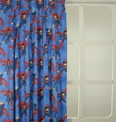 Kinderkamer Superman Blauw